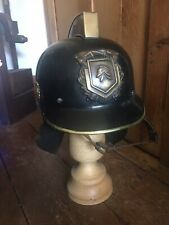 Dutch Firemans Helmet Complete Netherlands Issued To Fireman In Groningen