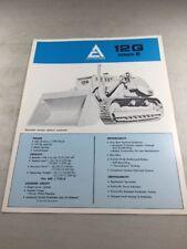 Original Allis Chalmers 12G Series B Sales Brochure