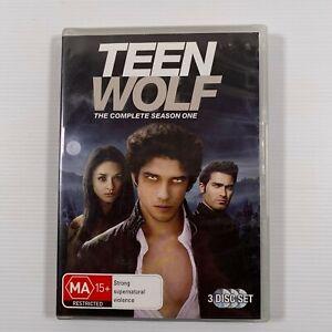 Teen Wolf Season 1 (DVD 3 disc-set 2012) Dylan O'Brien Tyler Posey Region 4