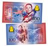 Russia 100 rubles Elon Reeve Musk Crew Dragon Polymeric