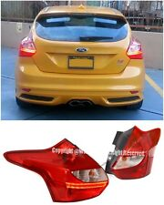 For 12-14 Ford Focus 4Dr Hatchback Eiro EDM Style LED Conversion Tail Lights