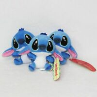 Wholesale Stitch Plush Mini Pendant Stuffed Doll Figure Toy Birthday Gift 1-5PCS