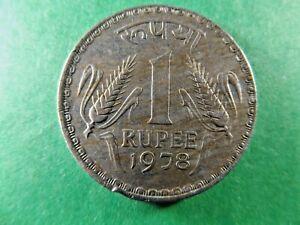 INDIA 1978 Rupee