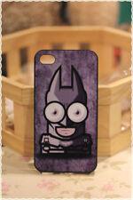 Cover custodia rigida iphone 4 e 4s Caricatura Batman Uomo Pipistrello