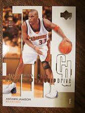 2002-03 Upper Deck Championship Drive Gold Antawn Jamison Golden State 038/125
