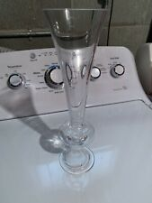 """8 pcs 11"""" tall Clear GLASS Trumpet VASES Wedding Party CENTERPIECES Supplies"""