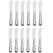 New listing Reed & Barton Captiva 18/10 Stainless Steel Butter Spreader (Set of Twelve)
