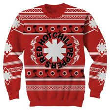 Official Red Hot Chili Peppers Palm Tree Ugly Sweater Sweatshirt S, M,L, XL, 2XL