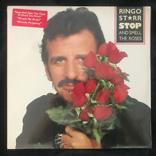 Beatles Ringo Starr Stop & Smell the Roses SEALED MINT Not a cut out W/Hype