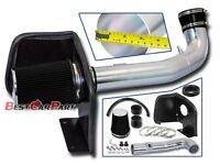 BCP 09-13 Silverado Sierra 1500 V8 Cold Shield Air Intake Kit+ Black Filter
