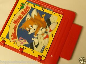 SEGA Pico Tails and the Music Maker for the Pico Video Game System