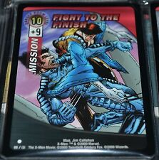 Fight To The Finish # 99/131 X-Men Trading Playing Cards Games TCG Xmen MINT