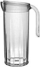 Polycarbonate plastic unbreakable, reusable 1.25 litre crystal clear pitcher