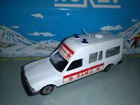NOREV JET CAR FRANCE 1/43 MERCEDES AMBULANCE SAMU N°874