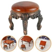 1:12 Mini Doll House Wooden Dining Table Simple Furniture Decoration Z7D6