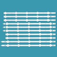 10pcs LED Backlight Strip for 42inch LG TV 42LN570S 42LN575S 42LA620S LC420DUE