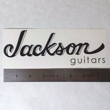JACKSON GUITARS Vinyl DECAL STICKER BLK/WHT/RED Logo Window Car Guitar Bass