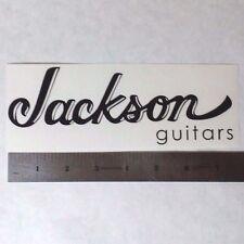 JACKSON GUITARS Vinyl DECAL STICKER BLK/WHT/RED Logo Window Car Guitar Bass