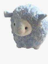 Inter American Products Lamb Sheep Plush Stuffed Animal Swirly Blue Fur