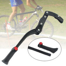 Adjustable MTB Bicycle Foot Support Frame Bike Support Rod Aluminum Alloy Black