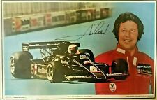 FORMULA 1 1978 WORLD CHAMPION MARIO ANDRETTI LAMINATED PLACEMAT-1969 INDY 500