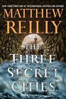 The Three Secret Cities (5) (Jack West, Jr.)