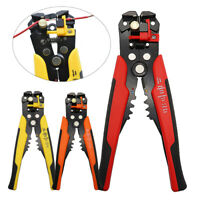 8in Self-Adjusting Insulation Wire Stripper/Cutter/Crimper Pliers Crimping Tool