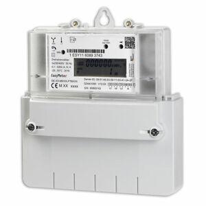 Fabrikneu: Drehstromzähler EasyMeter Q3AA 1054 5(60) Amp. MID2020 mit PIN-Code