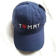 Tommy Hilfiger Adjustable Unisex Baseball Cap One size Color Navy NWT 3d372bbc290c