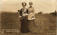 CPA AK Viktoria Luise u. Kronprinzessin in Uniform GERMAN ROYALTY (868059)