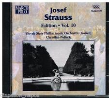 Josef Strauss Edition Vol 10 / Christian Pollack - CD