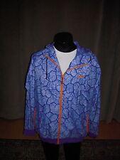 Nike Windbreaker Mens Blue Orange Cement Hoody Full Zipper XXL NWT $120 Rare 2XL