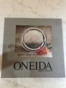 Oneida Maybrook Silver Tray 10 Inch