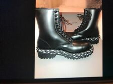 Balenciaga combat boot with rope detail US9 ,brand new with box ! Orig.1295.00