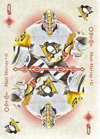2018-19 O-Pee-Chee Playing Cards #QUEEN-DIAMONDS Matt Murray Pittsburgh Penguins