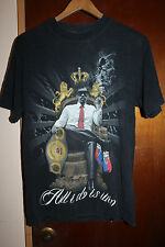 Manny Paquiao All I Do is Win PST Gear Men's Black T Shirt Size Medium