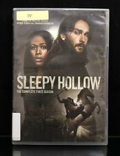 Sleepy Hollow The Complete First Season 1 DVD 4-Disc Set Ex-Library Nice Discs