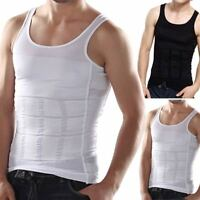 Men Tight Slimming Body Shapewear Vest Shirt Abs Abdomen Slim Tummy Belly Slim