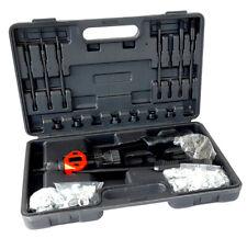 Kit rivettatrice 86pz per rivetti inserti filettati filetti pinza M3 M4 M5 M6 M8