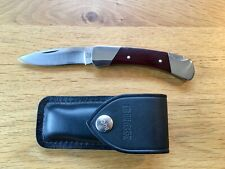 Beautiful Vintage 70's Buck Dress Knife,  Tang Stamp, Micarta Handles