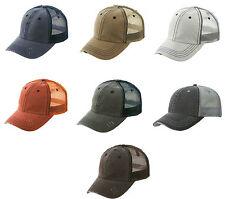 New Classic Vintage Trucker Hat Cap Distressed Hats Mixed Colors Lot of 12