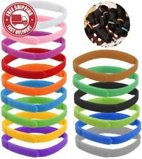 Hqdeal 15Pcs Assorted Colors Puppy Id Collars, Puppy Collars Multiple Pack, Whel