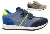 Nero Giardini Junior P833010M Blu e Grigio Sneakers Bambino Casual
