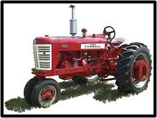 Farmall Tractors New Metal Sign:  Model 450 Featured