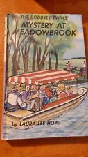 Vintage 1985 Printing THE BOBBSEY TWINS Mystery At Meadowbrook by Laura Lee Hope
