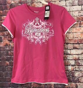 Tampa Bay Buccaneers Women's Size L BUCCANEERS FOOTBALL T-shirt Reebok