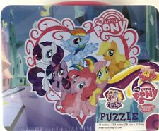 My Little Pony Friendship Tin Lunch 15 Inch Puzzle Inside Box 48 pc New Sealed