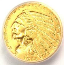 1914-D Indian Gold Quarter Eagle $2.50 Coin - Certified ICG MS61 - Rare Coin!