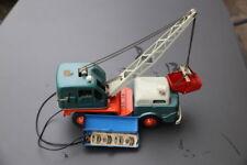 GAMA : Auto - Bagger, elektrisch mit Batteriesteuerung, SELTEN alles Blech !
