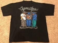 "Vintage 1992 Men's Large Cypress Hill Rap/Hip-Hop ""Blunted"" T-Shirt *RARE*"